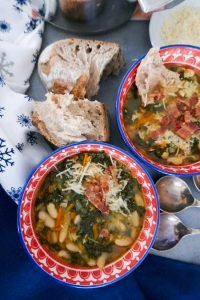 galician white bean soup
