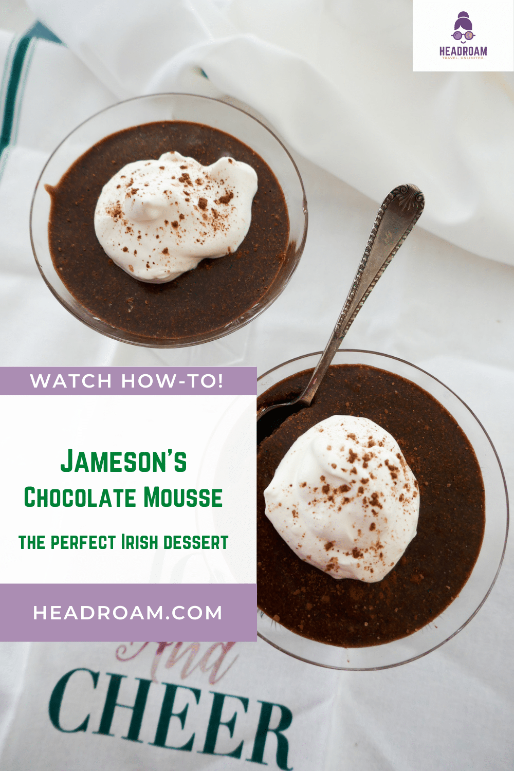 Jameson's Chocolate Mousse: the Perfect Irish-inspired Dessert