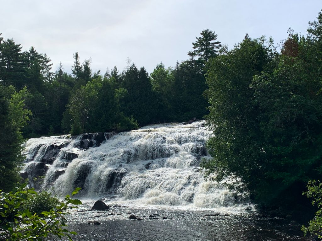 best places to visit in upper peninsula michigan: bond falls