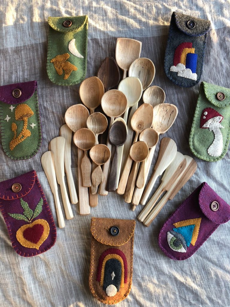 Perfect Gifts for Men who Cook: Spoons from Cave and Canopy