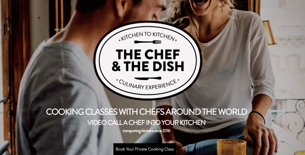 Photo from The Chef and the Dish, a superb online cooking service