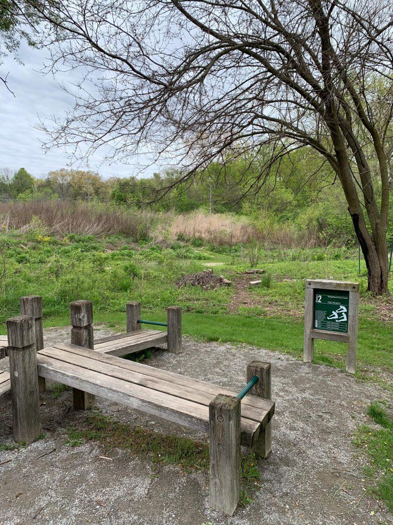 Parks in Ann Arbor: County Farm park's fitness trail