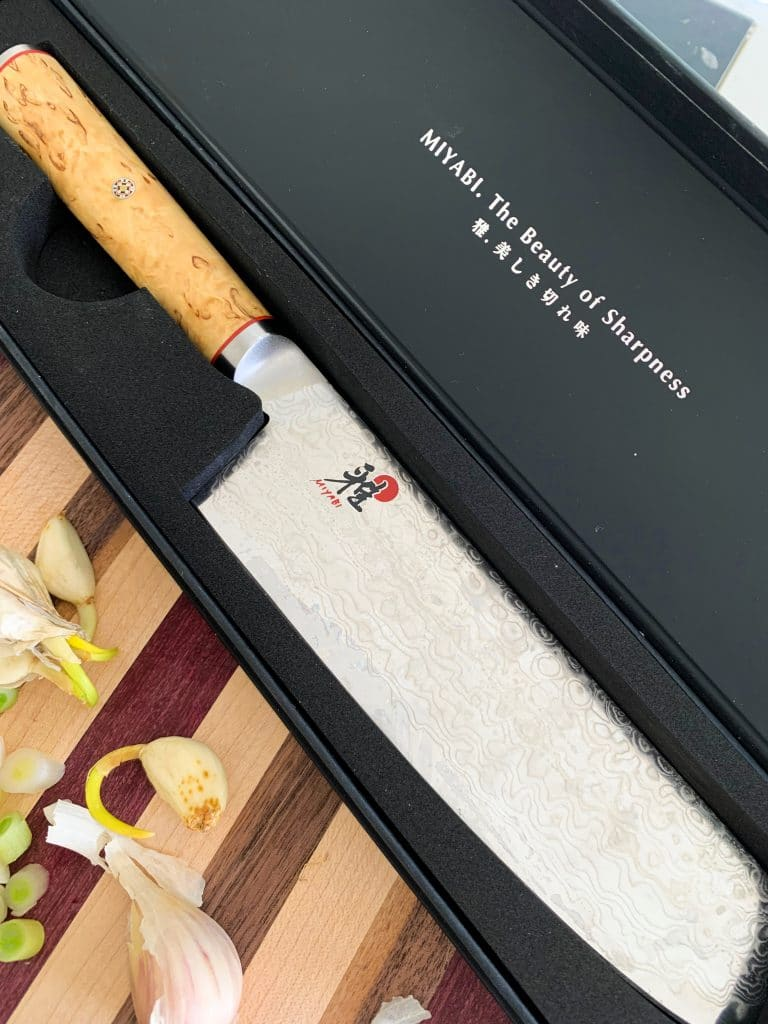 Perfect gifts for Men Who Cook: Miyabi Knife