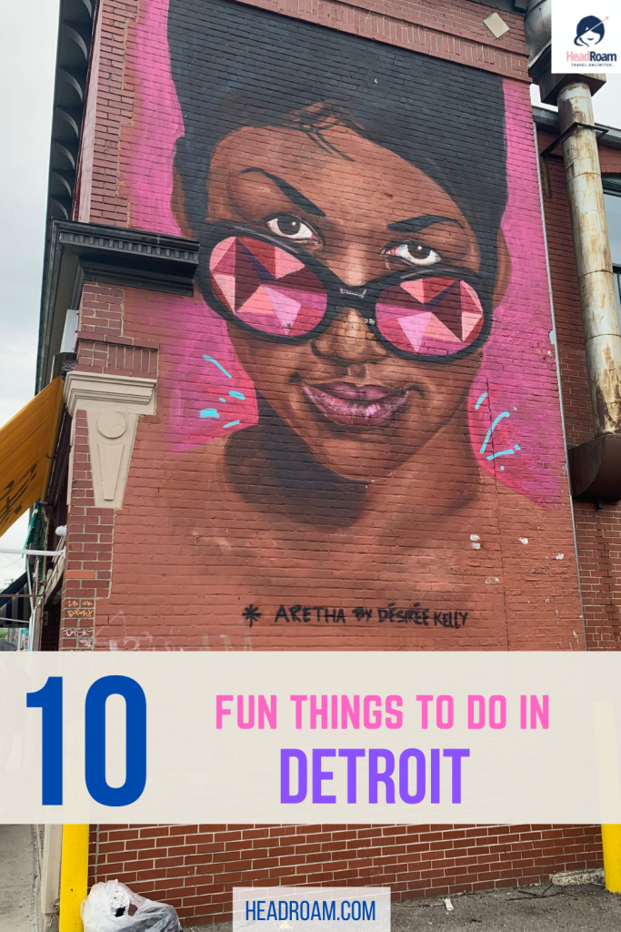 The Headroam post, 10 Fun Things to Do in Detroit, provides expert advice from a Michigander passionate about Motown.