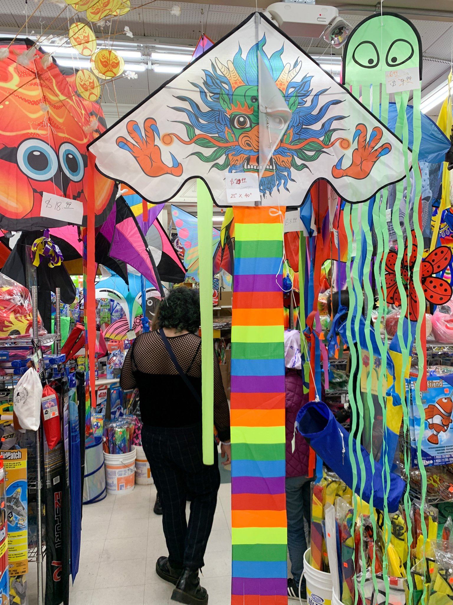 Inside the Chinatown Kite Shop in San Francisco