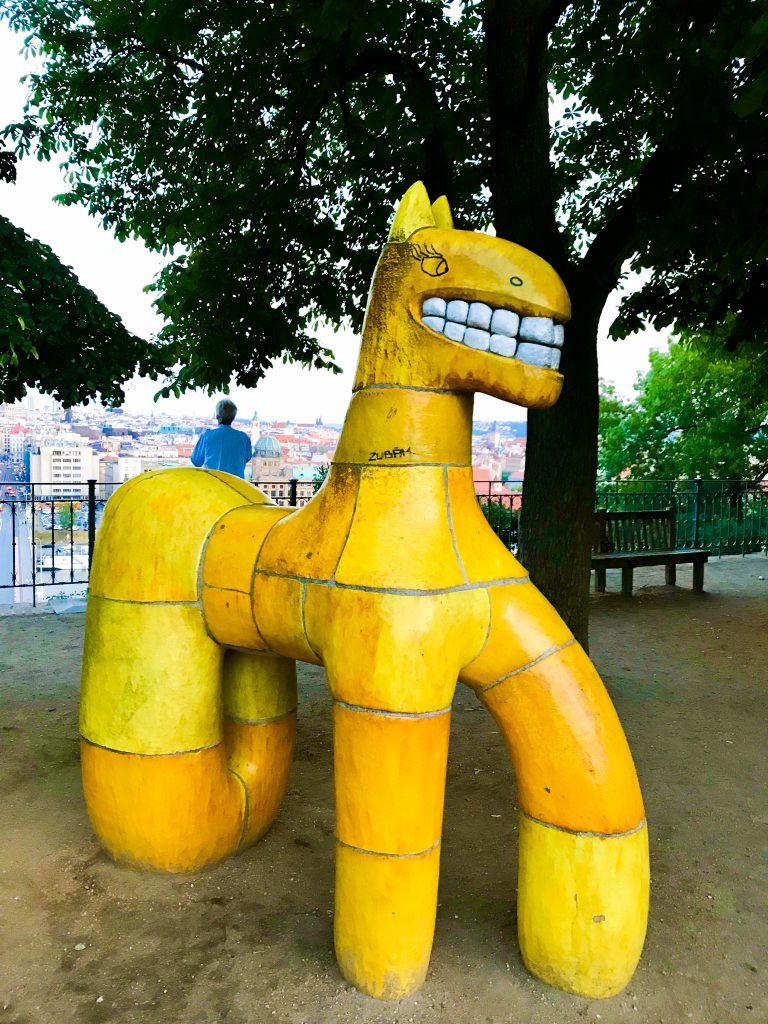Yellow beast, Letna Park, Prague 7