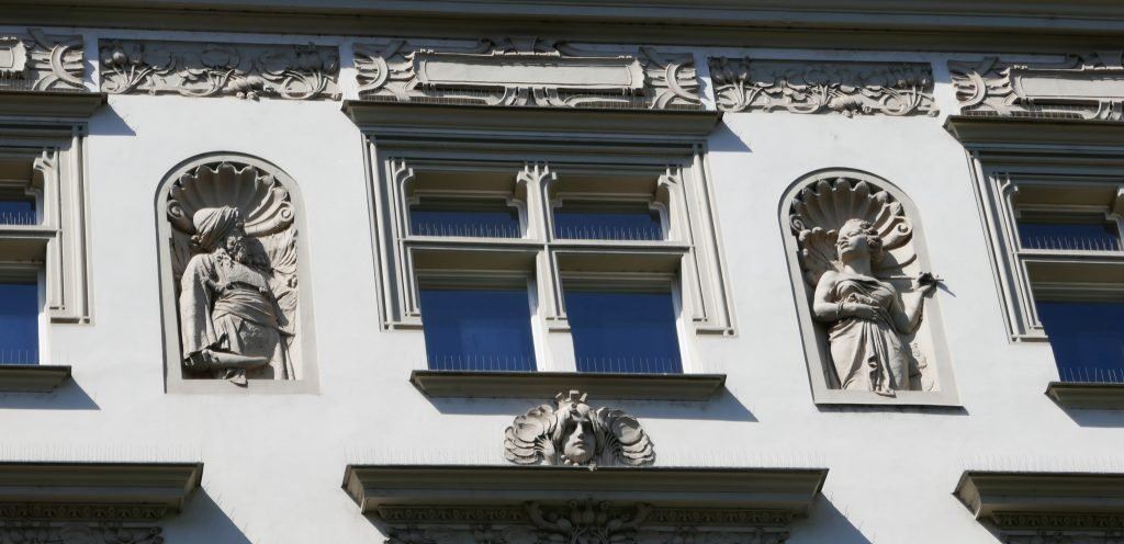 art nouveau details need to be a part of sightseeing Prague