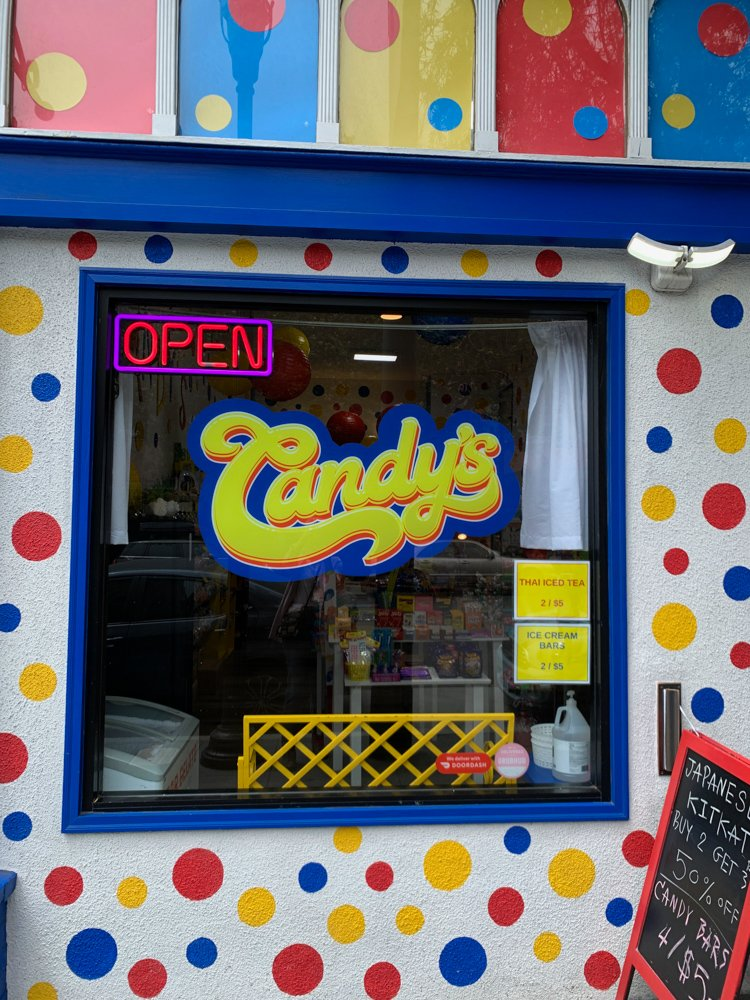 Candy's in the Haight, one of the hidden gems of san francisco
