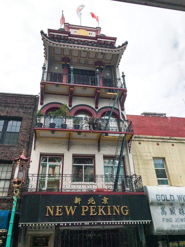 new peking building in chinatown, a hidden gem in san francisco