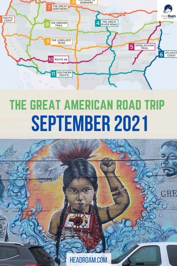 11-state cross country road trip